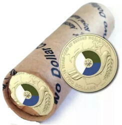 💰2020 End Of World War Ii Colour Two Dollars 2 Ram Roll Of 25 Coins Inc. Tube