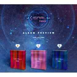 Us Shipping Twice-[signal] 4th Mini Album Select Cd+book+card+special+photo