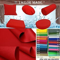 Pl07-tailor Made Red Outdoor Waterproof Sun Umberlla Patio Sofa Seat Cover