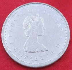 1984 Canada Dollar - Jacques - Uncirculated From Rcm Roll A203