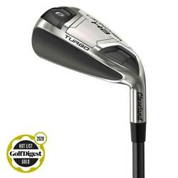 Cleveland Golf Launcher Hb Turbo Irons Individual Menand039s Rh Graphite S-flex