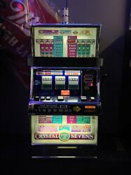 Crystal Sevens By Igt Slot Machine-free Shipping