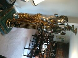 Stunning Bronze Statue By Originals.kelam Signed On The Base Life Size