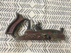 Sargent And Co. Plane. Vintage/antique Woodworking Tool. Very Rare