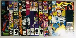 Vintage Marvel And Dc Comic Book Lot Of 12 Rare