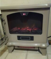 Duraflame Dfi-550-45 Convection Fireplace Stove-beige, Pre-owned, Free Shipping