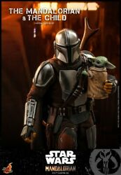 Hot Toys 1/6 Tms014 Star Wars The Mandalorian And The Child Figure Model Presale