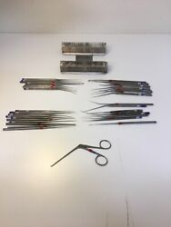 Lot Of 39 Vintage Storz Hand Tools/instrument Unsure If Safe For Medical Use