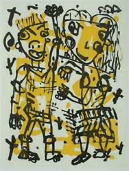 David Larwill Yes Signed Limited Edition Etching 78cm X 59cm