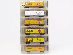 N Scale Micro-trains Mtl Kadee 49082 Meat Packing Reefer 6-pack Sealed