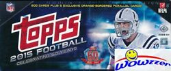 2015 Topps Football 505 Cards Hobby Factory Set-5 Orange Parallel Le D 75