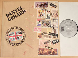 Danyel Gerard - Gone With The Wind 1977 / Foc + Promo-card / Lp Near Mint