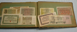 Ee. Old Album With 220 German Etc Notgeld Notes - Inflationary Period Post Wwi