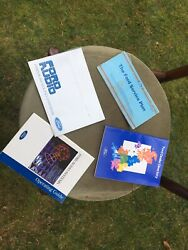 Four Ford Booklets Service Plan Ford Audio Dealer Directory