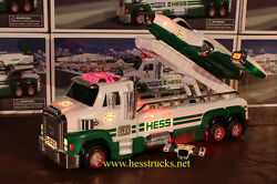 2014 Hess Truck And Space Cruiser Case Fresh Rare 2014 Hess Bag Included