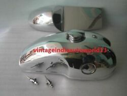 Benelli Mojave Cafe Racer Aluminum Fuel Tank Hood Seat Pair With Monza Cap And Tap