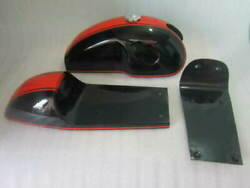 Benelli Mojave Cafe Racer Dual Painted Alloy Fuel Tank With Seat Hood Pair