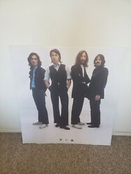 The Beatles Anthology 1996 Double-sided Retail Cardboard Promo Poster Super Rare