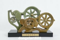36 Cm Famous China Artist Pure Bronze Abstract Two Pig Household Art Statue