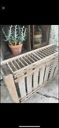 Antique Wooden Chicken Crate Farmhouse Decor Coffee Table Rustic