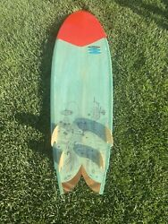 Danny Hess X Thomas Campbell 6ft Quad Fin Surfboard Surfing Art Limited Edition