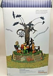 Dept 56 Snow Village Halloween Costume Parade 55201 Funeral March Of Marionette