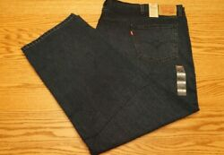 Nwt Menand039s Levi Jeans 559 Multiple Sizes Relaxed Straight Big And Tall 69.50