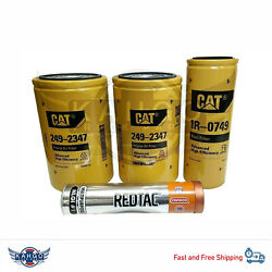 Cat Engine Oil Change Kit 249-2347 1r-0749 Free Tube Grease
