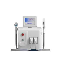 Foot Switch Nd Yag Laser Tattoo Removal Body Shaving And Hair Removal Machine
