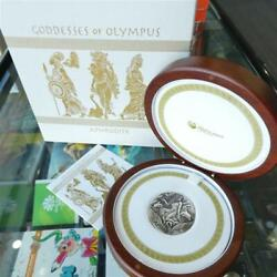 2015 Tuvalu Goddesses Of Olympus Series Aphrodite 2oz 2 Silver High Relief Coin