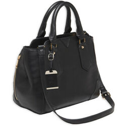 Bulldog Black Satchel Concealment Purse Concealed Carry Gun Handbag Shoulder CCW $64.99