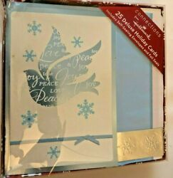Connections From Hallmark - 50 Deluxe Holiday Cards With Envelopes And Foil Seals