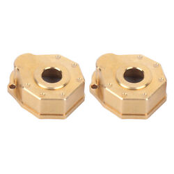 1/10 Scale Rc Front And Rear Axle Case Cover Brass Weight Fit For Trx4 Crawler