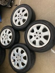 No Shipping 2001- 2004 Mercedes Clk320 C240 W208 Rims With Tires 205 55 16