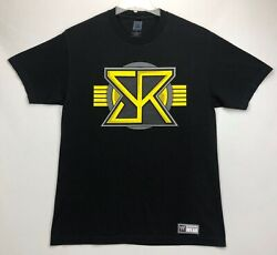 SETH ROLLINS Authentic T Shirt L WWE quot;Don#x27;t Sell Out Buy Inquot; Black