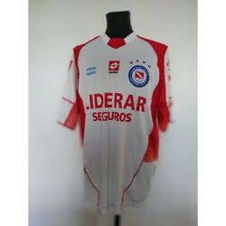 Argentinos Juniors Soccer Jersey Lotto 2005/2006 Size L Match Worn