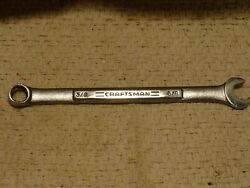Craftsman Tools Usa -v∧- 47852 3/8 Quick Speed Box Combination Wrench Used Usa
