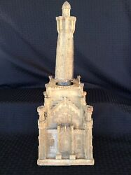 Chicago Water Tower Double Springs Decanter 1969