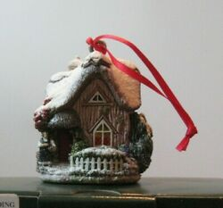 Lilliput Lane Ornament L2398 Christmas Pudding Mint In Box With Deed.