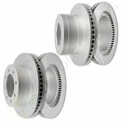 Front And Rear Discs Brake Rotors For 2006 2007 2008 Dodge Ram 1500 Slot Drill