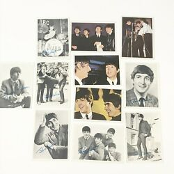 Vintage 1960's Diary The Beatles Trading Cards First Series 11 Cards