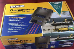 Marinco Guest 36202-24 Charge Pro Plus 20a 24v Boat Rv Trolling Battery Charger