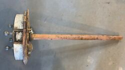 Left Axle Backing Plate Wheel Cylinder Off 1969 Datsun Roadster 2000 -t2andndash 5