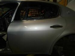 10 Maserati Quattroporte S M139 Rear Left Driver Side Door Shell Assembly Silver