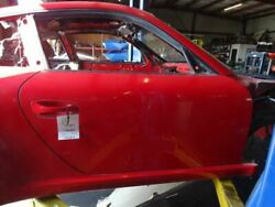 12 Porsche 911 997 Coupe Right Passenger Side Door Shell Body Panel Red