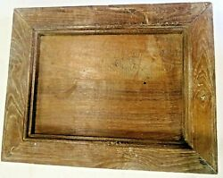 Antique Wood Framed Camera Photo Display Modified Wall Mount Display Decor W-8