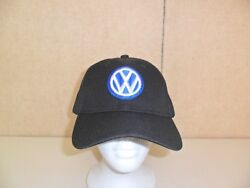 VW VOLKSWAGEN HAT BLACK FREE SHIPPING GREAT GIFT