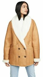 Frame Cocoon Shearling Coat Xs/s Sold Out Limited Edition Retail 2495