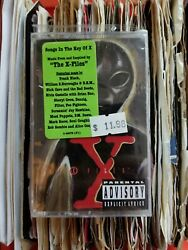 Sealed The X-files And039songs In The Key Of Xand039 Cassette Tape 1996