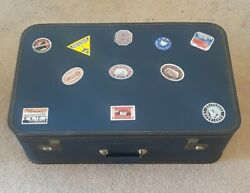 Collectable Mid-century Vintage Luggage Suitcase Travel Stickers Lady Baltimore